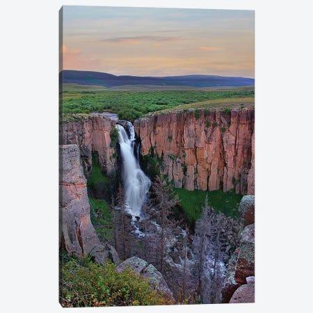 North Clear Creek Falls, Rio Grande National Forest, Colorado Canvas Print #TFI1386} by Tim Fitzharris Art Print