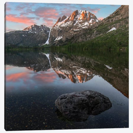 Peak From Silver Lake, Sierra Nevada, California Canvas Print #TFI1400} by Tim Fitzharris Canvas Art Print