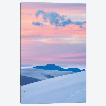 Pink Sunset, White Sands Nm, New Mexico Canvas Print #TFI1405} by Tim Fitzharris Canvas Artwork