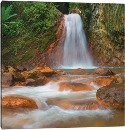 Pulangbato Falls, Negros Oriental, Philippines Canvas Art Print