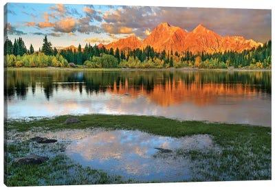 Ruby Range, Lost Lake Slough, Colorado Canvas Art Print