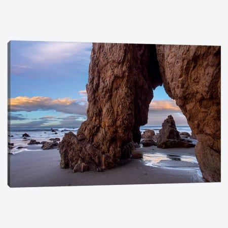 Sea Arch, El Matador State Beach, California Canvas Print #TFI1436} by Tim Fitzharris Canvas Print