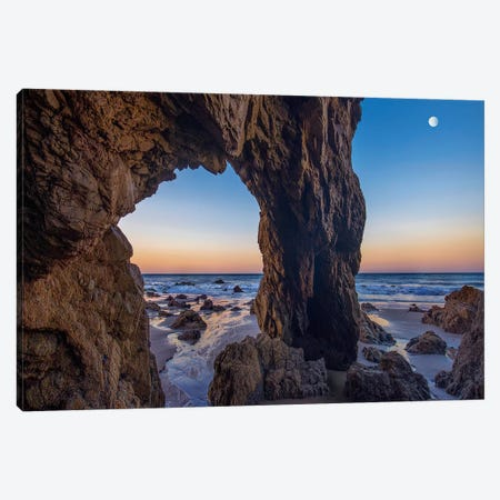 Sea Arch, El Matador State Beach, California Canvas Print #TFI1437} by Tim Fitzharris Canvas Art Print