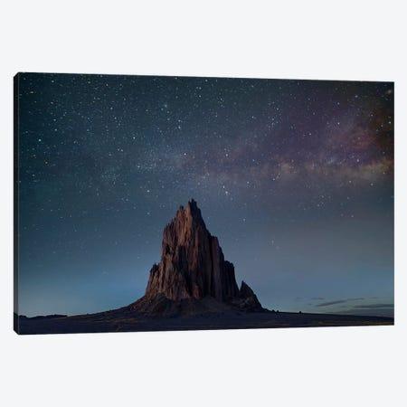 Ship Rock, Basalt Core Of Extinct Volcano, New Mexico Canvas Print #TFI1443} by Tim Fitzharris Canvas Art Print