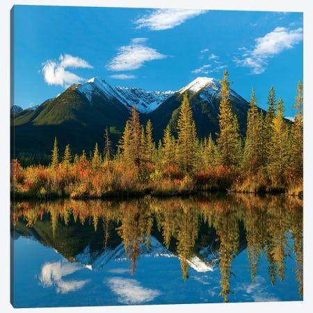 Sundance Range, Vermilion Lakes, Banff National Park, Alberta, Canada Canvas Print #TFI1453} by Tim Fitzharris Canvas Art