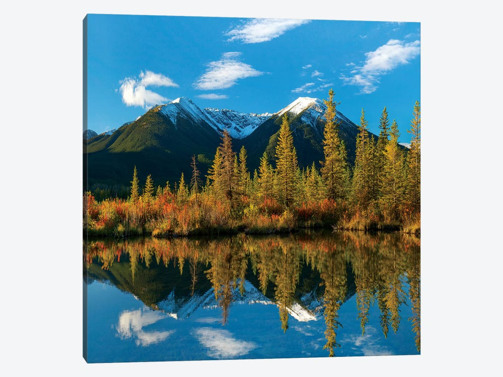 Sundance Range, Vermilion Lakes, Banff National Park, Alberta, Canada by Tim Fitzharris 1-piece Canvas Wall Art