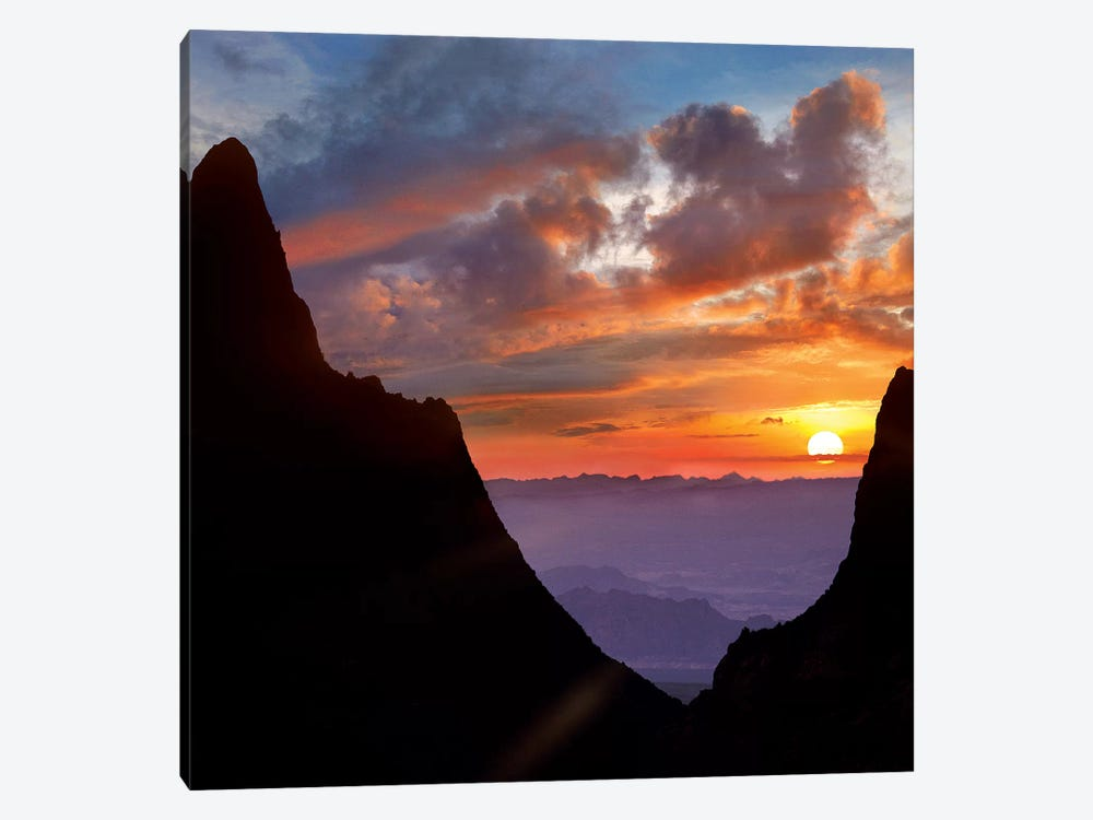 The Window At Sunset, Big Bend National Park, Texas by Tim Fitzharris 1-piece Canvas Wall Art