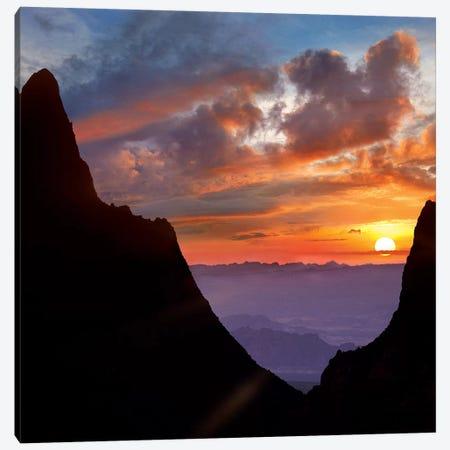 The Window At Sunset, Big Bend National Park, Texas Canvas Print #TFI1462} by Tim Fitzharris Art Print