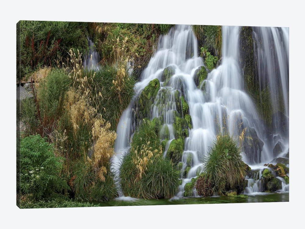 Waterfall, Niagara Springs, Idaho 1-piece Canvas Artwork