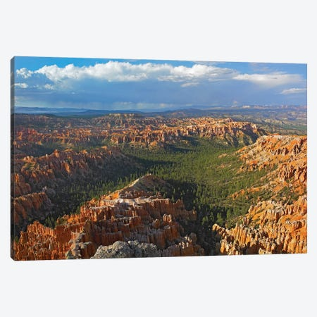 Bryce Canyon National Park Seen From Bryce Point, Utah I Canvas Print #TFI148} by Tim Fitzharris Art Print