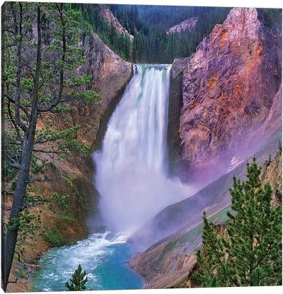 Yellowstone Falls, Yellowstone National Park, Wyoming Canvas Art Print