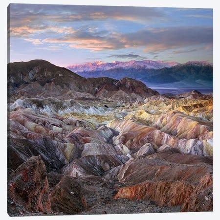 Zabriskie Point, Death Valley National Park, California Canvas Print #TFI1495} by Tim Fitzharris Art Print