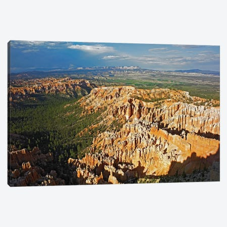 Bryce Canyon National Park Seen From Bryce Point, Utah II Canvas Print #TFI149} by Tim Fitzharris Art Print