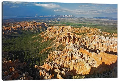 Bryce Canyon National Park Seen From Bryce Point, Utah II Canvas Art Print