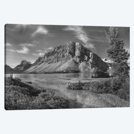 Bow Lake, Crowfoot Mountains, Banff National Park, Alberta, Canada Canvas Print #TFI1540} by Tim Fitzharris Canvas Artwork