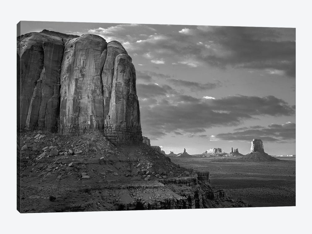 Buttes, Monument Valley, Arizona by Tim Fitzharris 1-piece Canvas Artwork