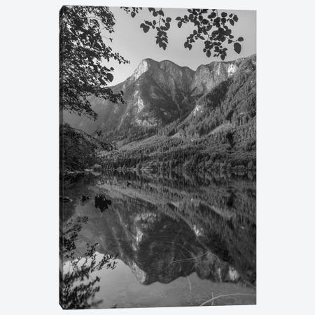 Cascade Mountains reflected in Silver Lake near Hope, British Columbia, Canada Canvas Print #TFI1562} by Tim Fitzharris Canvas Artwork