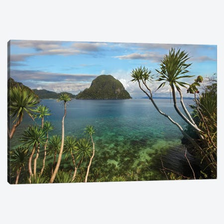 Cadlao Island Near El Nido, Palawan, Philippines Canvas Print #TFI157} by Tim Fitzharris Canvas Art Print