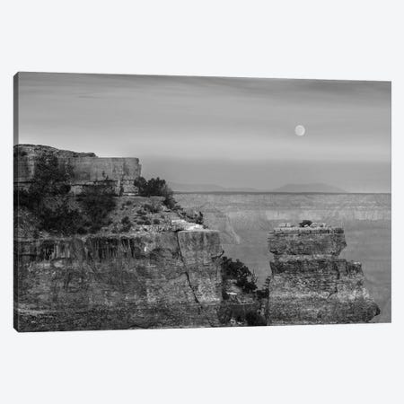 Full moon rising at Yaki Point, Grand Canyon National Park, Arizona Canvas Print #TFI1603} by Tim Fitzharris Canvas Art Print