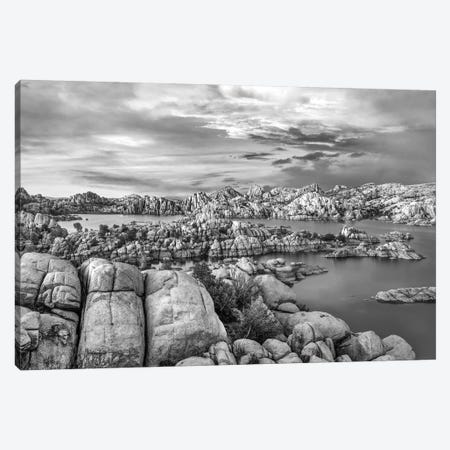 Granite Dells at Watson Lake, Arizona Canvas Print #TFI1612} by Tim Fitzharris Canvas Wall Art