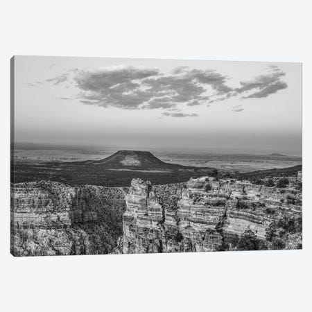Lone Butte at Grand Canyon from Desert View, Grand Canyon National Park, Arizona. Canvas Print #TFI1653} by Tim Fitzharris Canvas Wall Art