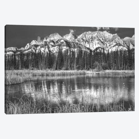 Miette Range and Talbot Lake, Jasper National Park, Alberta, Canada Canvas Print #TFI1655} by Tim Fitzharris Canvas Print