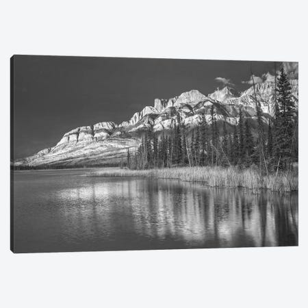 Miette Range and Talbot Lake, Jasper National Park, Alberta, Canada Canvas Print #TFI1656} by Tim Fitzharris Art Print