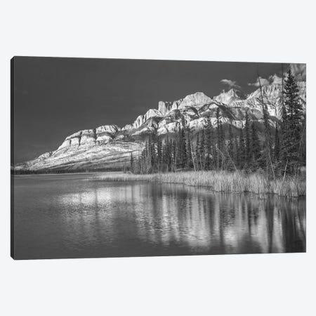 Miette Range and Talbot Lake, Jasper National Park, Alberta, Canada Canvas Print #TFI1656} by Tim Fitzharris Art Print