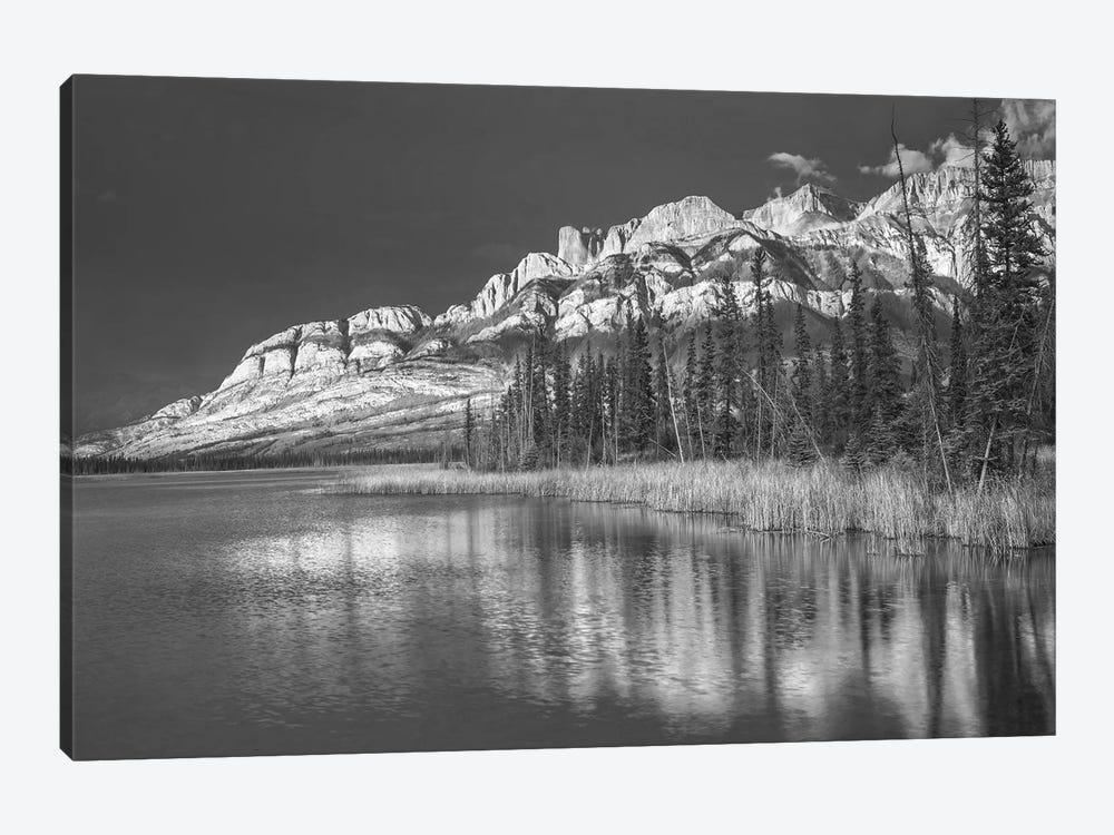Miette Range and Talbot Lake, Jasper National Park, Alberta, Canada by Tim Fitzharris 1-piece Canvas Artwork