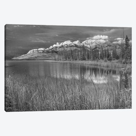 Miette Range and Talbot Lake, Jasper National Park, Alberta, Canada Canvas Print #TFI1657} by Tim Fitzharris Canvas Print