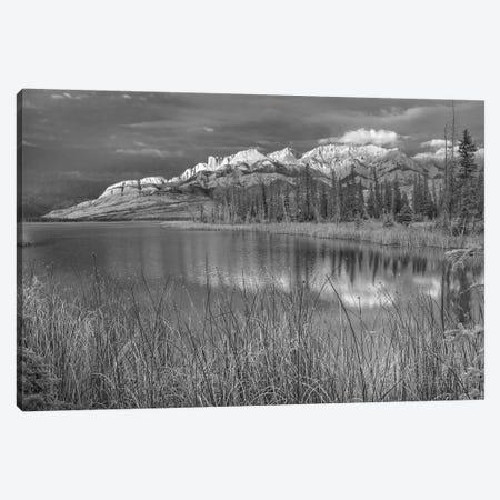 Miette Range and Talbot Lake, Jasper National Park, Alberta, Canada Canvas Print #TFI1657} by Tim Fitzharris Canvas Print