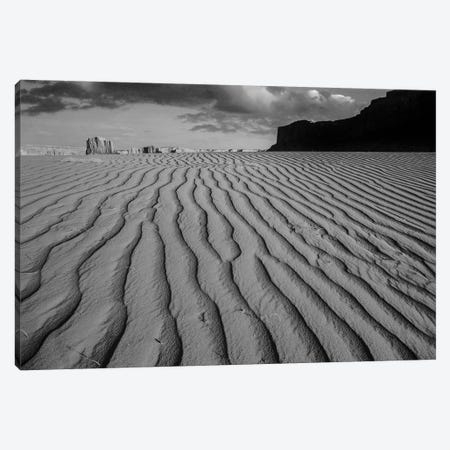 Sand dunes at Monument Valley Navajo Tribal Park, Arizona Canvas Print #TFI1761} by Tim Fitzharris Canvas Art