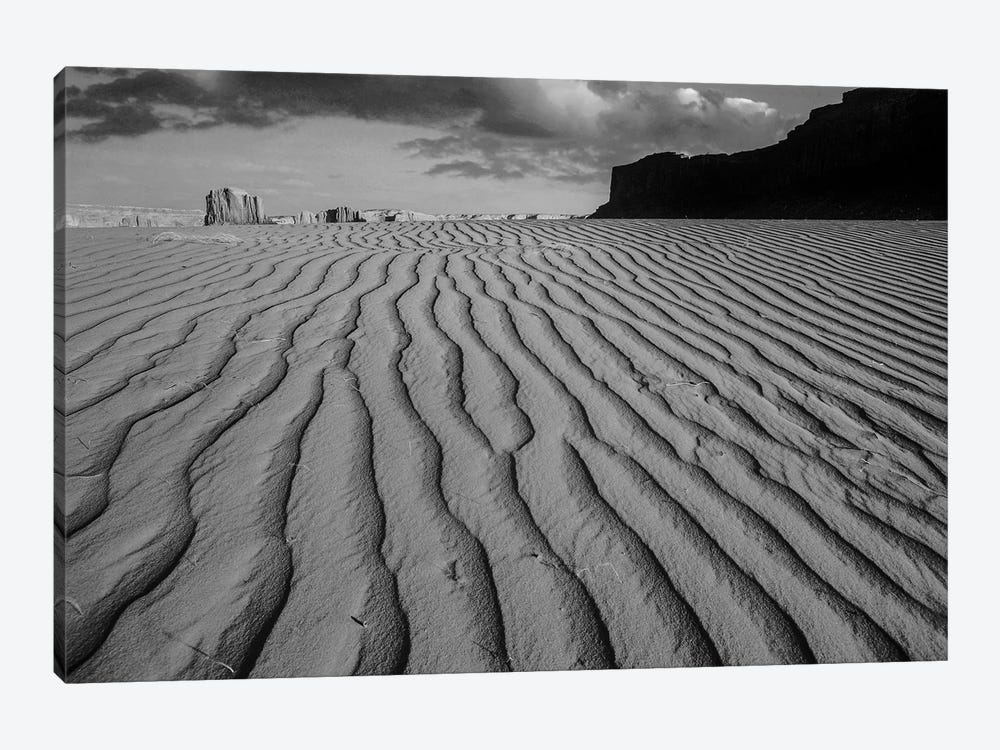 Sand dunes at Monument Valley Navajo Tribal Park, Arizona by Tim Fitzharris 1-piece Canvas Print