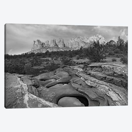 Seven Sacred Pools and Coffee Pot Rock, Red Rock-Secret Mountain Wilderness, Arizona Canvas Print #TFI1767} by Tim Fitzharris Art Print