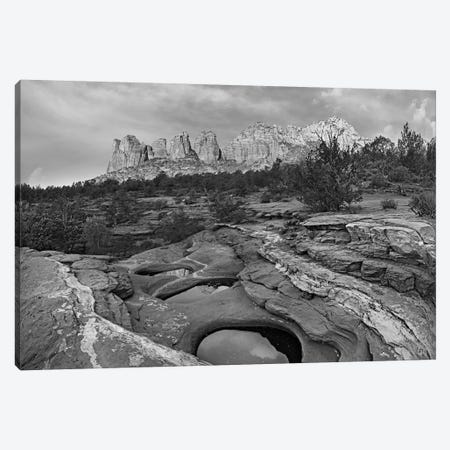 Seven Sacred Pools and Coffee Pot Rock, Red Rock-Secret Mountain Wilderness, Arizona Canvas Print #TFI1767} by Tim Fitzharris Art Print