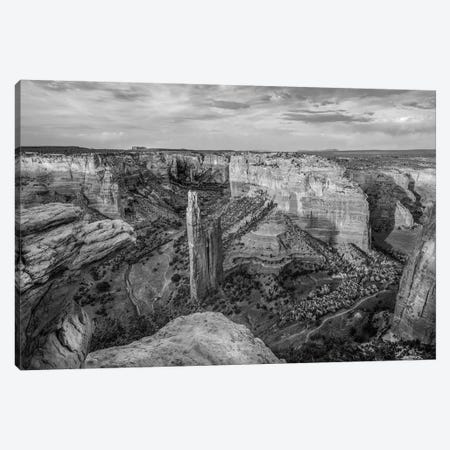 Spider Rock, Canyon de Chelley, Arizona Canvas Print #TFI1789} by Tim Fitzharris Canvas Artwork