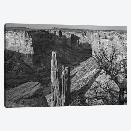 Spider Rock, Canyon de Chelley, Arizona Canvas Print #TFI1790} by Tim Fitzharris Canvas Art Print