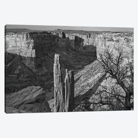 Spider Rock, Canyon de Chelley, Arizona Canvas Print #TFI1790} by Tim Fitzharris Canvas Art Print