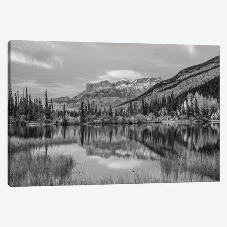 Syncline Ridge and Miette Range from Moberly Flats, Jasper National Park, Alberta, Canada Canvas Print #TFI1799} by Tim Fitzharris Art Print
