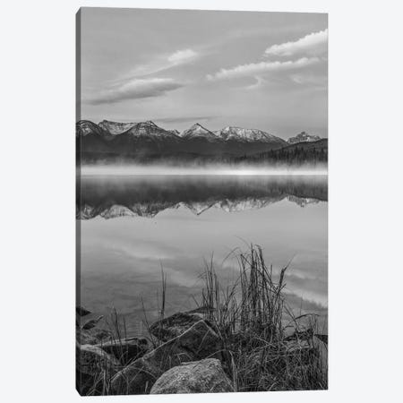 Trident Range from Pyramid Lake, Jasper National Park, Alberta, Canada Canvas Print #TFI1823} by Tim Fitzharris Canvas Art Print