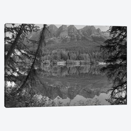 Yellowhead Mountain and Yellowhead Lake with boreal forest, Mount Robson Provinvial Park, British Columbia, Canada Canvas Print #TFI1841} by Tim Fitzharris Canvas Art Print