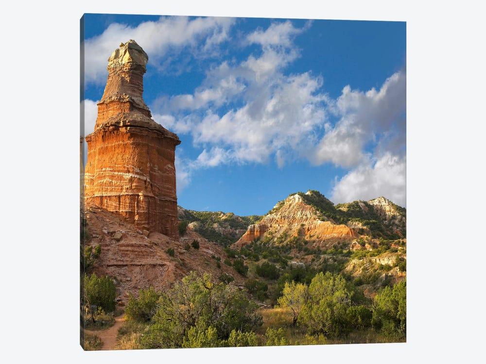 Lighthouse, Palo Duro Canyon State Park, Texas Panhandle, High Plains, Texas, USA 1-piece Art Print