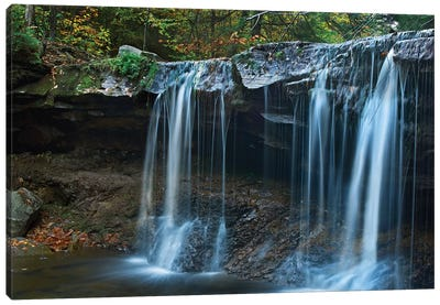 Cayuga Falls, Ricketts Glen State Park, Pennsylvania Canvas Art Print