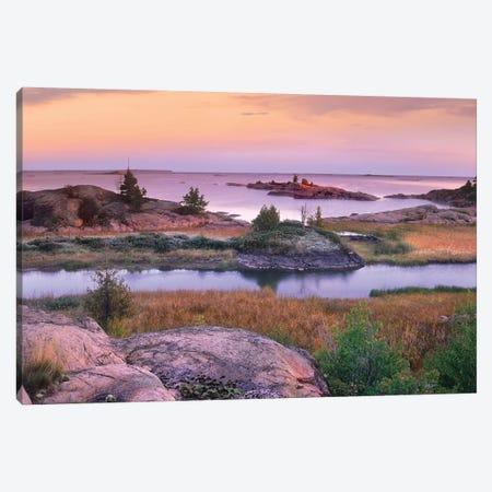 Chikanishing Creek, Killarney Provincial Park, Ontario, Canada Canvas Print #TFI207} by Tim Fitzharris Canvas Print