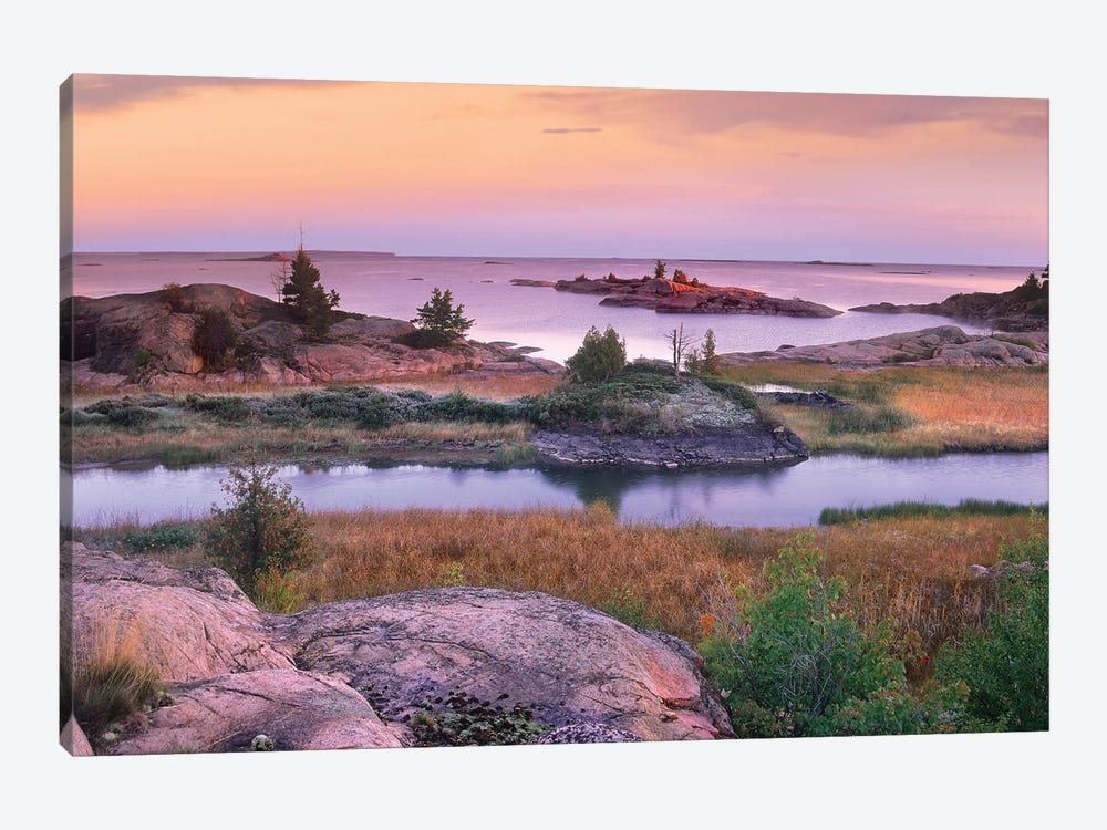 Chikanishing Creek, Killarney Provincial Park, Ontario, Canada by Tim Fitzharris 1-piece Canvas Artwork