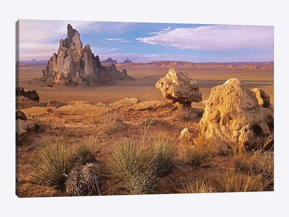 Church Rock, Monument Valley, Arizona by Tim Fitzharris 1-piece Canvas Print