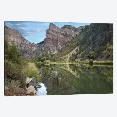 Colorado River, Glenwood Canyon, Colorado Canvas Print #TFI250} by Tim Fitzharris Art Print