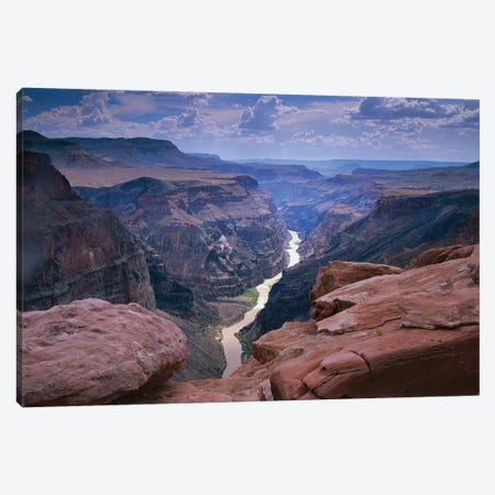 Colorado River, Grand Canyon National Park, Arizona Canvas Print #TFI251} by Tim Fitzharris Canvas Art Print