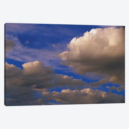Colorful Clouds Against Blue Sky, New Mexico Canvas Print #TFI252} by Tim Fitzharris Canvas Art Print