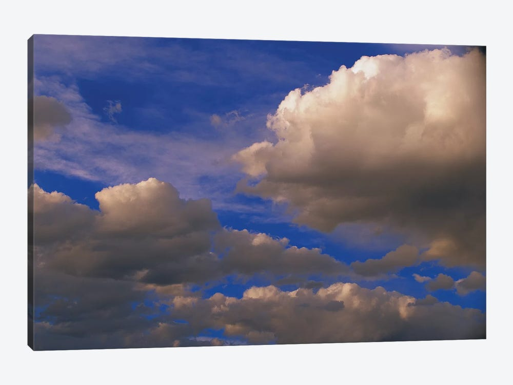Colorful Clouds Against Blue Sky, New Mexico by Tim Fitzharris 1-piece Canvas Artwork